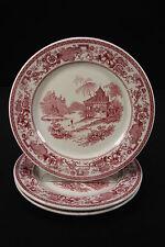 O P Co Syracuse Restaurant China Dinner Plates 1930 Mayfair Design Set Of 3