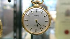 """""""Excellent+++"""" CITIZEN  Manual Pocket watch 4-672089-X """"From Japan"""""""