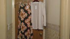 Sleeveless Pullover Dress and Cardigan-BNWT-Ann Taylor Loft- Size-Large