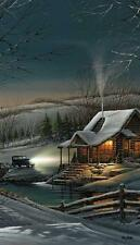 Terry Redlin Evening with Friends Cabin Print