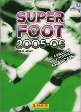 STICKERS IMAGE VIGNETTE PANINI - SUPER FOOT 2005 / 2006 - a choisir