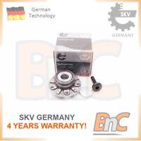REAR WHEEL BEARING KIT AUDI SEAT VW OEM 1K0598611 SKV GERMANY GENUINE HEAVY DUTY