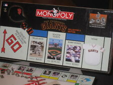 MONOPOLY SAN FRANCISCO GIANTS COLLECTORS EDITION - Board Game