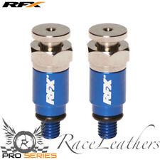 RFX BLUE YAMAHA MOTOCROSS BIKE FORK BLEEDERS YZ/YZF/WR/WRF 125/250/400/426/450