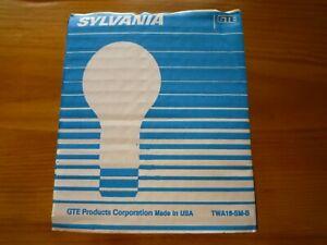 2 Sylvania 25 Watt Light Bulbs Medium Base A19 New Old Stock 1 Pack of 2 Each Pk