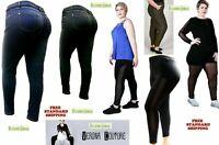 1826 Knit Women's Plus Size stretch soft feel Butter Skinny Legging JEANS PANTS