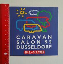 Aufkleber/Sticker: Caravan Salon 1995 Düsseldorf 1995 (1506169)