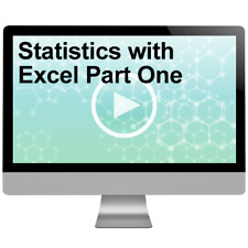 Statistics with Excel Part One Video Training Course