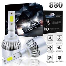 880 881 892 COB LED Fog Headlight Conversion Kit 1300W 195000LM 6000K HID White