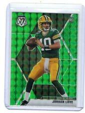 Jordan Love 2020 Mosaic Green Prizm SP Rookie Card RC #211 Packers