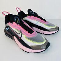 Nike Women's Air Max 2090 New In Box White/Black-Pink Foam Colour Size 9