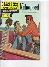 Classics Illustrated   #46  hrn 169  Kidnapped