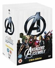 Marvel's The Avengers 6 Movies Collection DVD Robert UK Release New Sealed R2