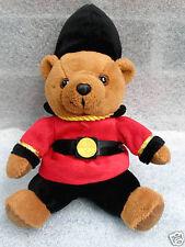Keel Toys Queens Guard Teddy Bear in uniform 10in Sitting Plush Toy