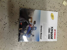 1995 1996 Yamaha YZF600R Repair Workshop Shop Service Manual Brand New