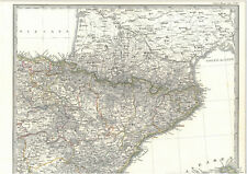 🕺 💃 ⛲ 🐃 viejo país mapa Vizcaya alava Navarra Aragon Gatgluñg 1829 - 1851