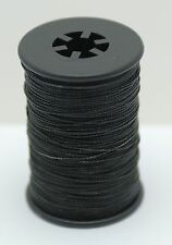 Black BCY Powergrip Serving Thread Jig Spool Bow String Bowstrings, .014""