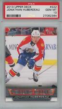 2013 Upper Deck Young Guns #222 Jonathan Huberdeau RC Gem Mint PSA 10