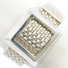 AGATHA Belt motif Ring Silver Women