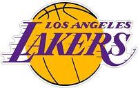 "LA Los Angeles Lakers NBA Color Die Cut Vinyl Decal - You Choose Size 2""-42"""