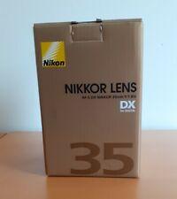 Nikon AF-S DX Nikkor 35mm f/1,8G Objektiv - Wie Neu - OVP
