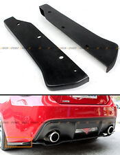 For 2013-2016 Subaru BRZ & Scion FR-S FRS 86 JDM Rear Bumper Aero Side Aprons