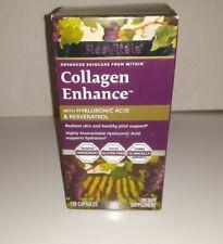 ResVitales Collagen Enhance W/Hyaluronic Acid 120 Capsules