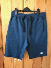 starter navy blue sweat shorts  small ladies bnwt