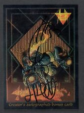 ASH Dynamic Forces 1997 CHROMIUM AUTOGRAPH CARD #C10 JOE QUESADA JIMMY PALMIOTTI