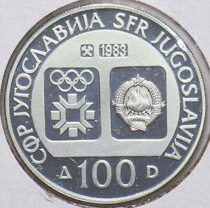 Yugoslavia 1983 KM 99 100 Dinara PF 293908 combine shipping