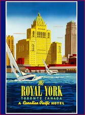 97757 Royal York Hotel Toronto Canada Canadian Travel Decor LAMINATED POSTER CA