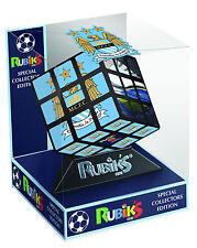 RUBIK's Cube rompicapo Manchester City Football EDIZIONE PER COLLEZIONISTI