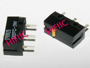 2PCS Omron D2FC-3M Subminiature Basic Switch