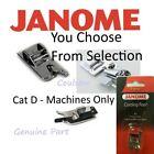 Janome Sewing Machine Feet Foot Cat D 9mm MC8900QCP,MC8200QC,9900,14000,Atelier