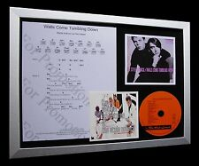 STYLE COUNCIL+WELLER Walls Tumbling Down LTD CD FRAMED DISPLAY+FAST GLOBAL SHIP!