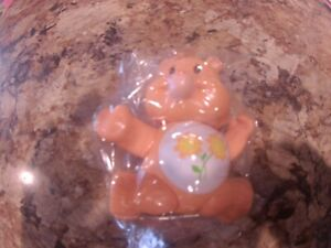 Vintage 1983 Care Bears Friend Bear Poseable Figure PVC Kenner