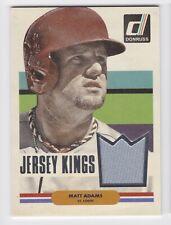 Matt Adams 2015 Donruss Jersey Kings Jersey Relic #38 St. Louis Cardinals MK