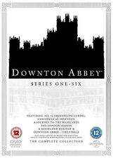 DOWNTON ABBEY SERIES 1-6 DVD FINALE CHRISTMAS LONDON MOORLAND HOLIDAY HIGHLANDS