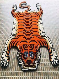 Tibetan classic Tiger skin rug