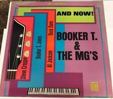 Booker T. & The MG's AND NOW! Stax Records S711 Memphis TN Vinyl LP 1966