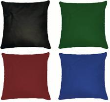 Kissen Aus Echtleder 40 × 40 In Verschiedenen Farben
