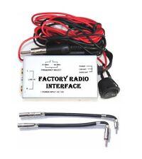 RCA Auxillary Audio Input Wired FM Modulator Car Radio + Antenna Adapter GM6 GM7
