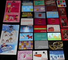 30 Collectible Gift Card JC Penny Store + Bonus All Different Lot No Value <2010