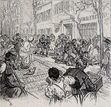 VIERGE DANIEL, L'ami de l'ordre episode de la commune, Jerome et Jean Tharaud,