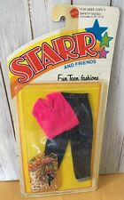Vintage Starr and Friends Fun Teen Fashions Set Pants & Pink Top  by Mattel