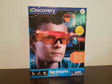 Discovery Kids Night Vision Spy Goggles Retractable Scope Adjustable Strap (NEW)