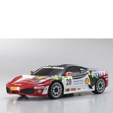 Mini-Z Karosserie 1:24 Ferrari F430 No 28 MR-02 MR-03 RM Kyosho MZP-312-BS 70647