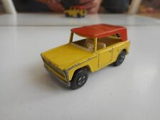 Matchbox Superfast Field Car in Yellow