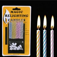 Magic Relighting Candles Funny Trick Birthday Eternal Blowing Candle Naughty Kid