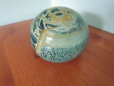 Mdina Magnum Paperweight, signed to base 115 mm wide 1.54 kg